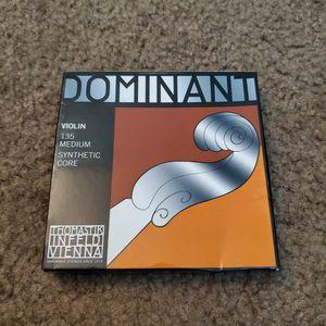 New Dominant 135 Violin Strings for 4/4 full size violin for Sale in La Puente, CA