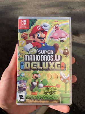 Super Mario Bros U Deluxe (BrandNew) Nintendo Switch for Sale in Riverside, CA