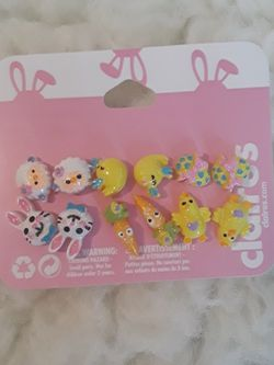 Easter- New Claire's Earrings (6 Pairs) for Sale in El Cajon,  CA