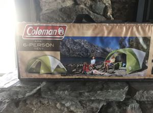 Father's Day Special!! Coleman 6-person Tent for Sale in Phoenix, AZ