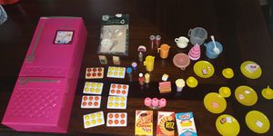 Barbie Refrigerator ➕ accesories for Sale in Oklahoma City, OK