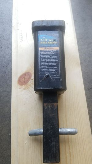 """Hitch adopter 1-1/4 to 2"""" for Sale in Eagan, MN"""