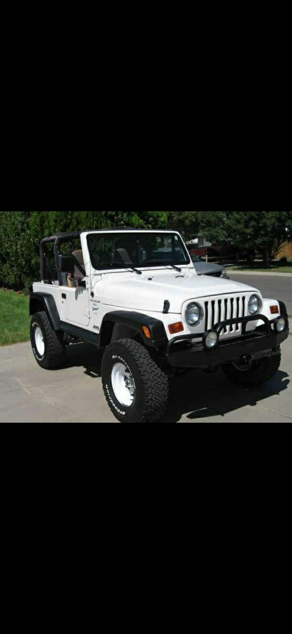 I'm looking for a jeep wrangler from 95 to 2000 if you have any for sale let me know