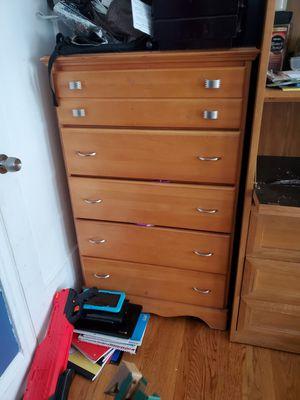 Wood dresser for Sale in Colma, CA