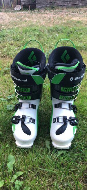 Black Diamond Factor Mx130 Ski Boots Size 26.5 Mondo for Sale in Edmonds, WA
