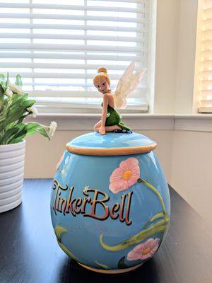 Disney tinker bell cookie jar for Sale in Olney, MD