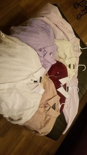 6 Mens Long Sleeve dress shirts for Sale in Dallas, TX