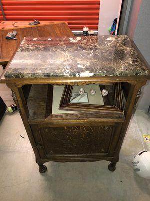 Antique Music Box Cabinet for Sale in Denver, CO