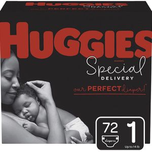 Huggies Special Delivery Hypoallergenic Baby Diapers, Size 1, 72 Ct for Sale in Las Vegas, NV