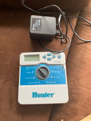 Hunter x-core xc-800i sprinkler controller for Sale in Round Rock, TX