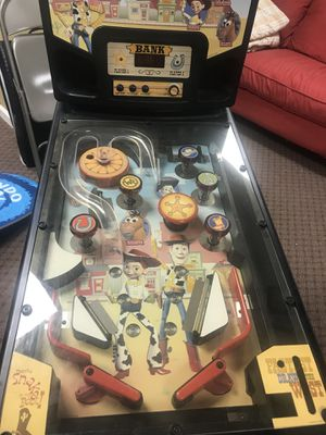 Original Woody's roundup Toy Story pinball mini machine. Collectable hard to find for Sale in Plainview, NY