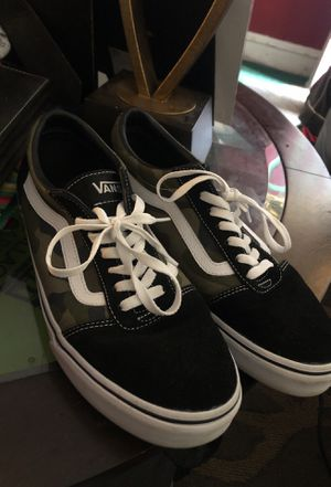 Army fatigue Vans / Size 11 for Sale in Indiana, PA