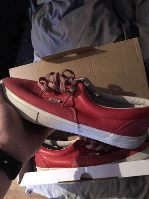 Vans Vault LX. Red leather. Size 13 for Sale in Cleveland, OH
