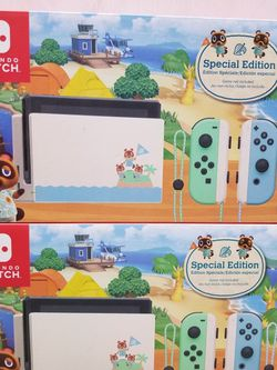 NINTENDO SWITCH WITH ANIMAL CROSSING GAME. BRAND NEW SEALED BOX. FINANCING AVAILABLE for Sale in Huntington Park,  CA