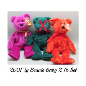 2001 Ty Beanie Baby 2 Pc Set. SHIPPING ONLY 😉 for Sale in Colorado Springs, CO