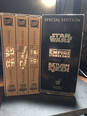 STARWARS TRILOGY SPECIAL EDITION for Sale in Riverside, CA