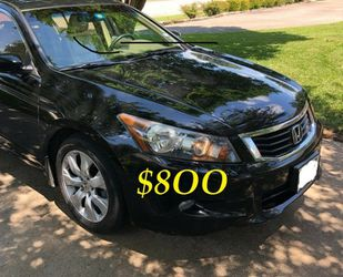 ✅🟢💲8OO URGENTLY Selling By Owner 2OO9 💚 Honda Accord Sedan EX-L Runs and drives great.Clean title! Mechanically perfect! very strong V6.🟢✅ for Sale in Aurora,  CO