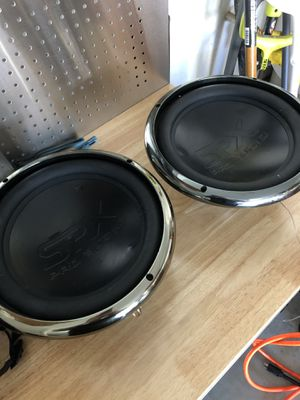 Pair of spx pro audio 12's for Sale in Elk Grove, CA