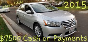 Nissan Sentra 2015 ( Clean Title ) Automatic $200- Payments Available for Sale in San Fernando, CA
