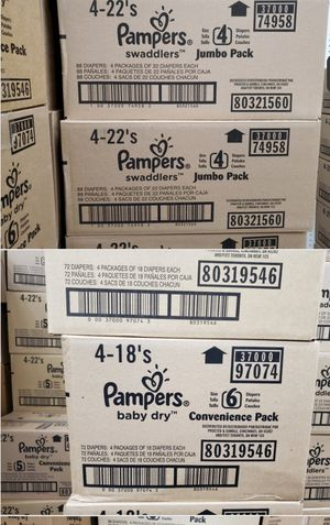 Pampers Size 6 for Sale in Las Vegas, NV