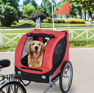 DOG PET STROLLER TAXI COACH ATTACH TO BICYCLE LIKE NEW for Sale in Toms River, NJ
