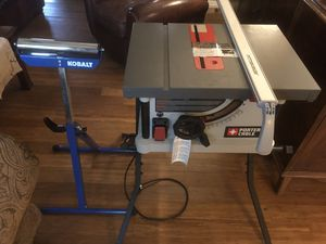 PORTER CABLE TABLE SAW!!! NEW!!!! for Sale in Ocean Springs, MS
