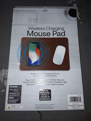 Brand new wireless charging mouse pad for Sale in Lemon Grove, CA