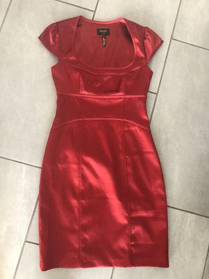 """Red """"Laundry"""" brand silk dress size 2 for Sale in Las Vegas, NV"""
