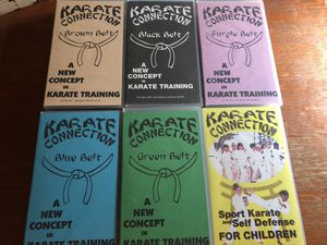 Karate VHS training movies UFC for Sale in Culver City, CA