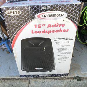 """Harbinger APS15 15"""" Active Loudspeaker for Sale in Alpharetta, GA"""