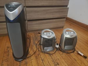 Air purifier HEPA, mini-heaters for Sale in Chicago, IL
