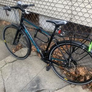 Blue & Black Bike Good Codition for Sale in Boston, MA