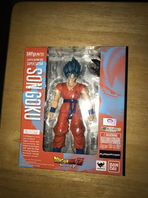 "Bandai Tamashii Nations S.H.Figuarts God Super Saiyan Son Goku ""Dragon Ball Z: Resurrection F"" Action Figure(Discontinued by manufacturer) for Sale in Ontario, CA"