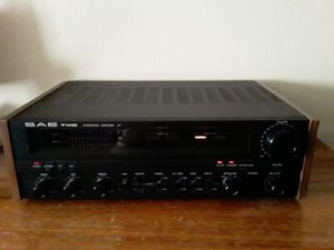 SAE TWO SCIENTIFIC A7 AMPLIFIER AMP STEREO PRO AUDIO ELECTRONICS USA JAPAN VINTAGE INTEGRATED for Sale in Portland, OR