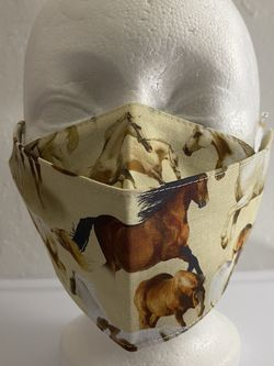 3D Face Mask Adults (Horses) for Sale in San Diego,  CA