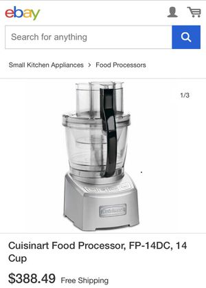 Cuisinart Food Processor for Sale in Los Angeles, CA