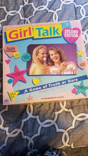 Girl Talk board game for Sale in North Reading, MA