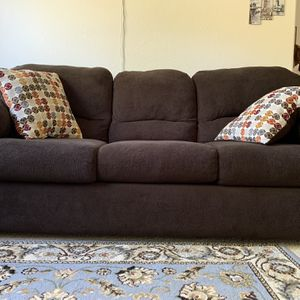 Brown And Grey Color Sofas Clean Pet Free 3 Years Old for Sale in San Diego, CA