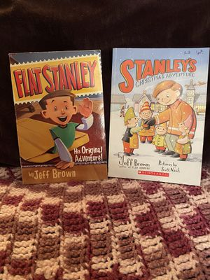 Flat Stanley Books (2) by Jeff Brown for Sale in Weldon Spring, MO