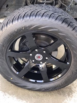 "20"" rims and tires for Sale in Caruthers, CA"