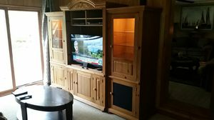 T V wall unit. for Sale in Chiefland, FL