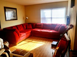 Large 2 piece sectional couch for Sale in Nashville, TN