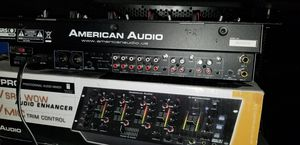American Audio Q-Spand Pro Mixer (3D Sounds, 4 Channels & TRU-BASS) - Black for Sale in Oakland, CA