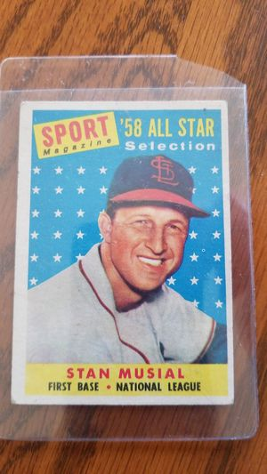 '58 Stan Musial baseball card for Sale in Greensburg, PA