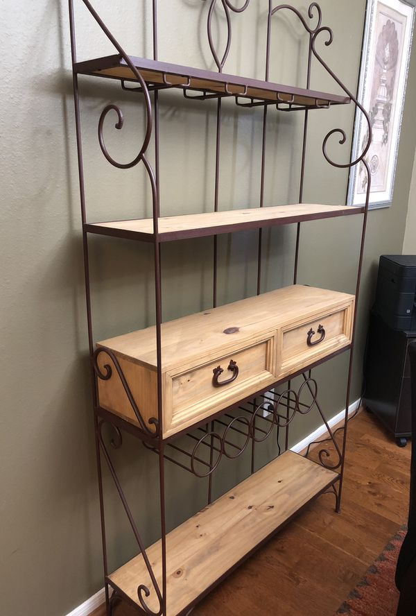 Like new! Gorgeous baker's rack