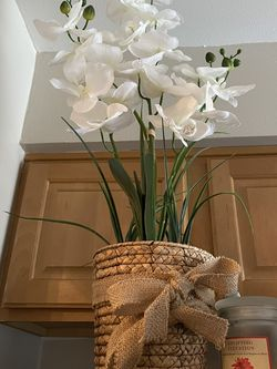 Artificial Plant In Pot/ Faux Flower for Sale in Falls Church,  VA