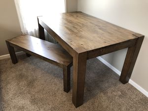 Dining table and bench for Sale in Brookings, SD