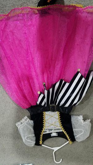 Disney pirate girls costume size 7/8 medium for Sale in Placentia, CA