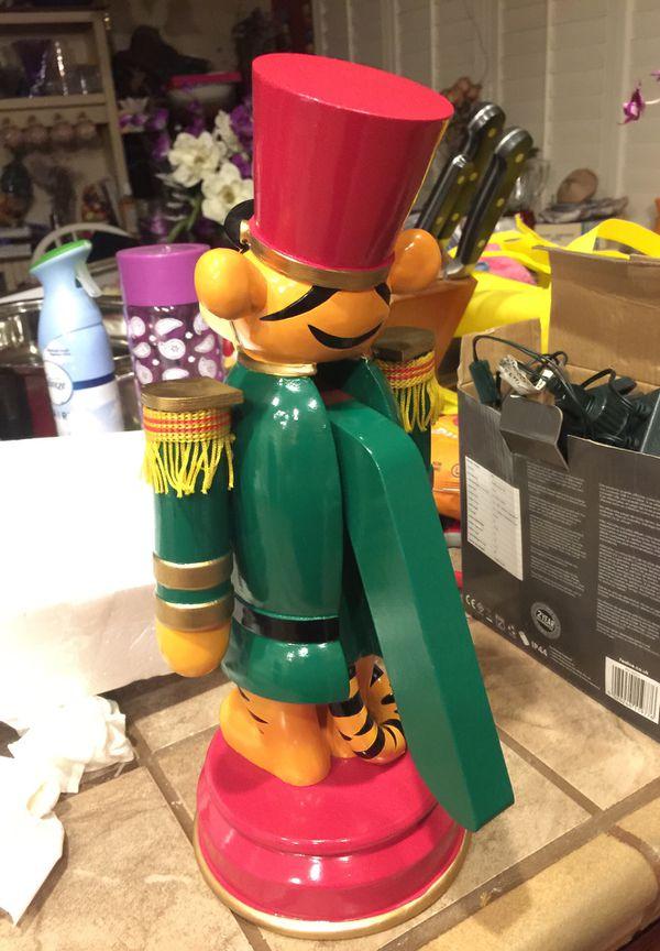Disney's tiger from Winnie the Pooh Nutcracker