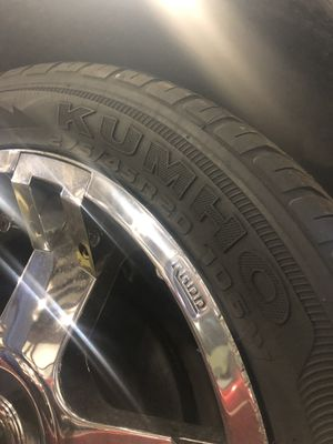 Almost brand new. 20 inches rims with tires for Sale in Lorton, VA